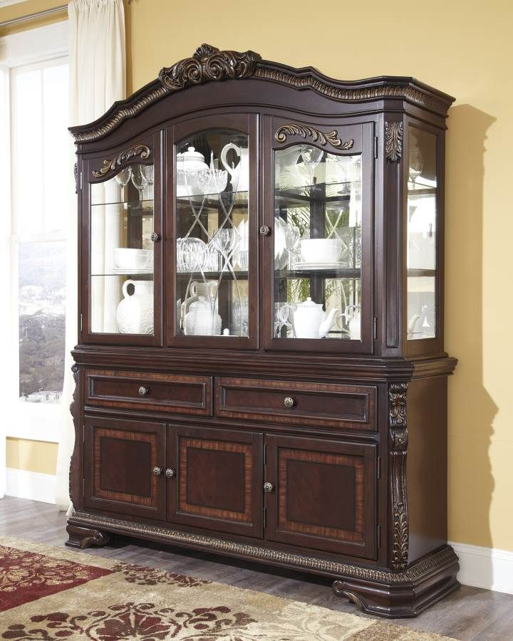 White Dining Room Hutch: Pin On Buffets & Servers