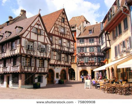 Colmar France Definitely One To Put On Your To Do List When You Are In The Area With Images Facade House Colmar Hotel Spa