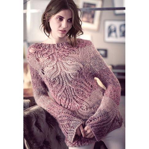 Pullover mit Trompetenärmel | Pullover damen, Pullover und