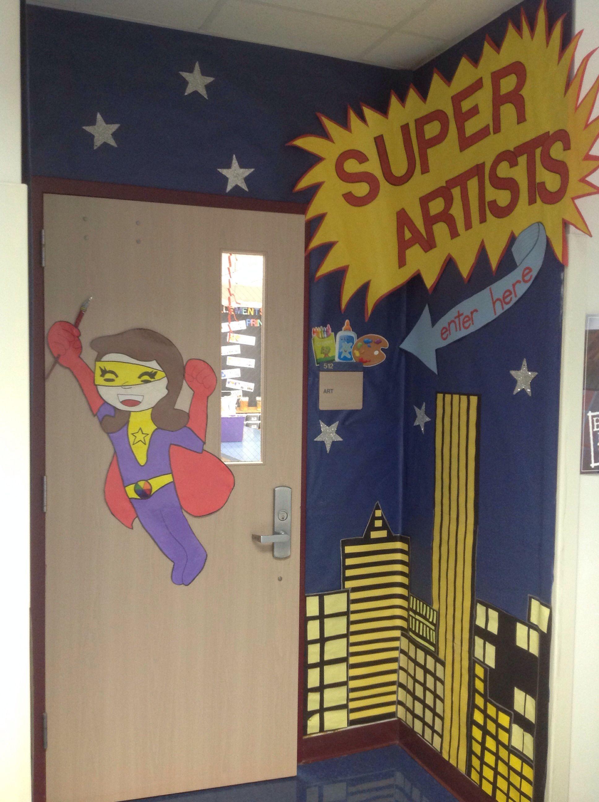 Rhythmandglues Wordpress Super Hero Classroom