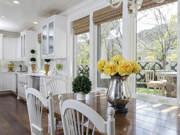 Simple window coverings kitchen Pinterest Hgtv, Kitchens and