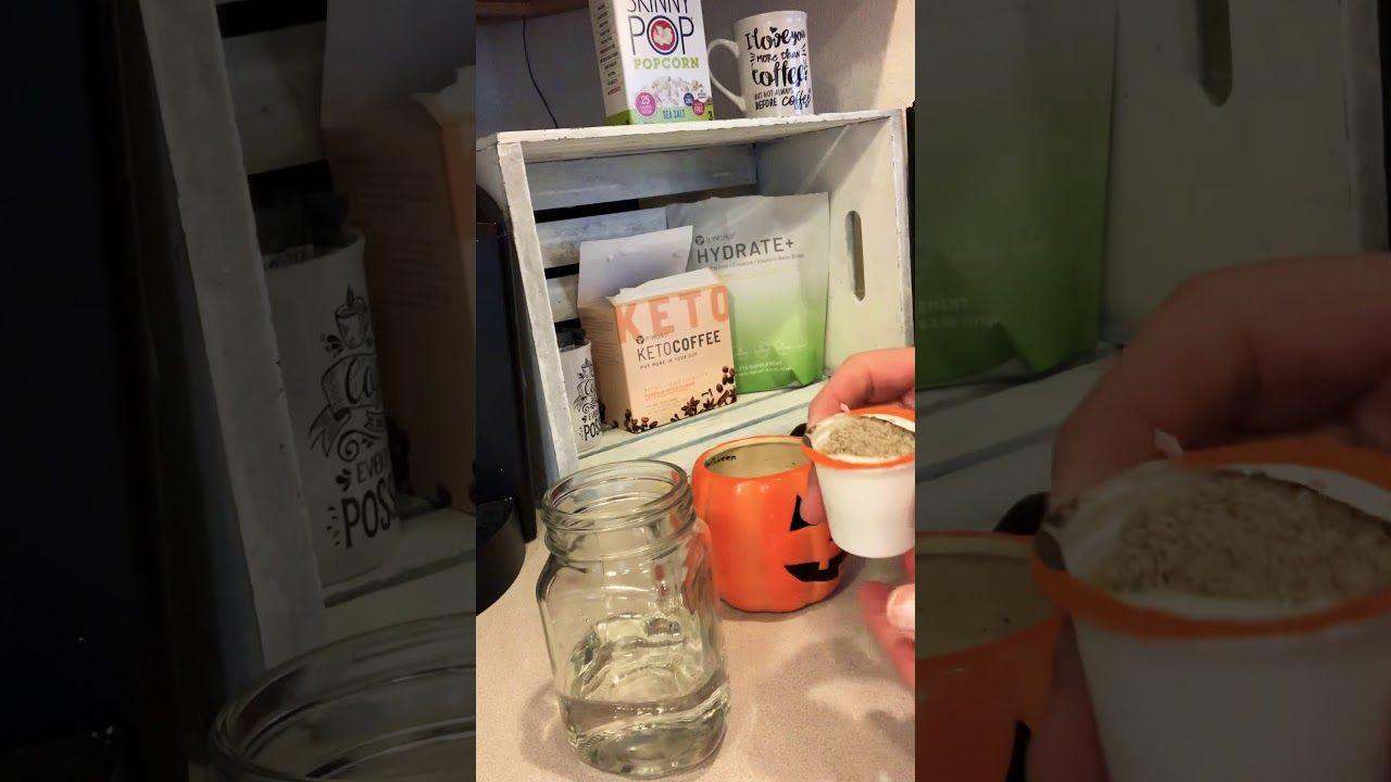 Pumpkin Spice Keto Coffee #pumpkinspiceketocoffee