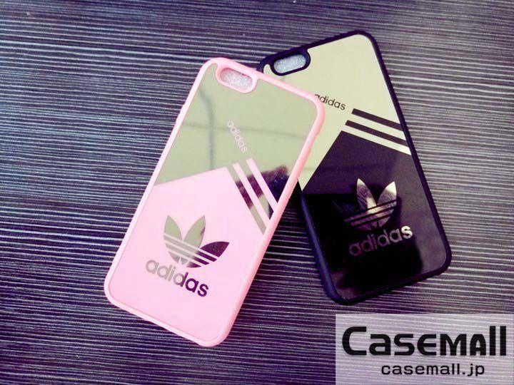 d4616f6fd8 アディダス iphone8ケース 鏡面 iphone7s plusケース ペア Adidas アイフォン7ケース ジャケット型 大人気