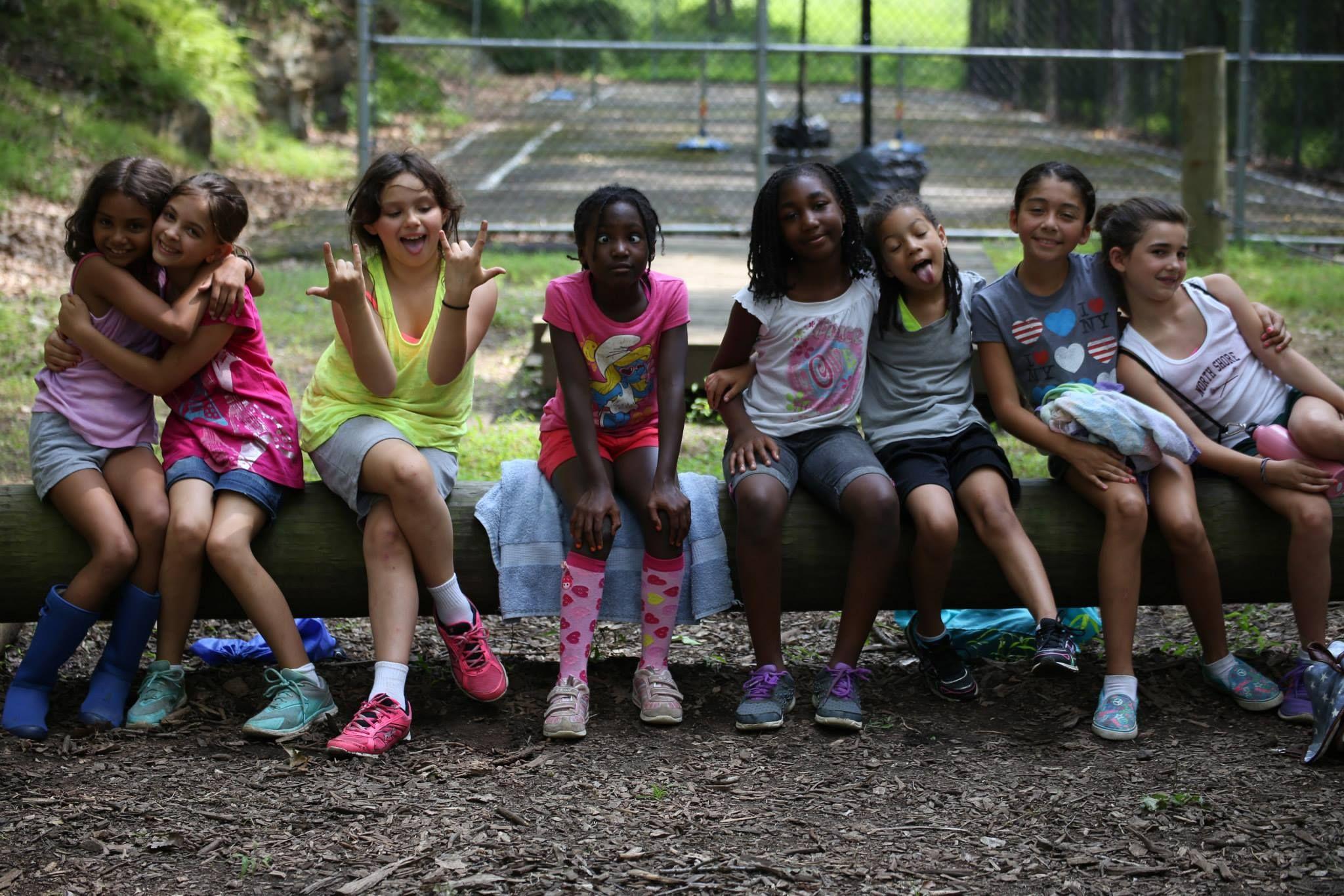 At camp mahetu girls make friends for life it is a