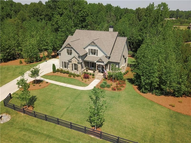 Enchanting Craftsman Estate Superb Upgraded Appointments Throughout Custom Home Tucked On 2 3 Private Acres Divine Ship Lap Walls Custom Homes Screened Porch
