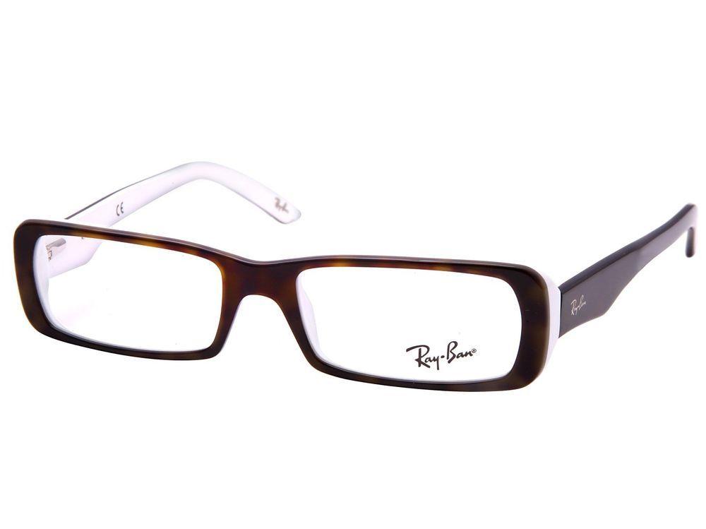 Ray-Ban Glasses Frames RB 5210 2499 Tortoise Shell & White 51mm | I ...