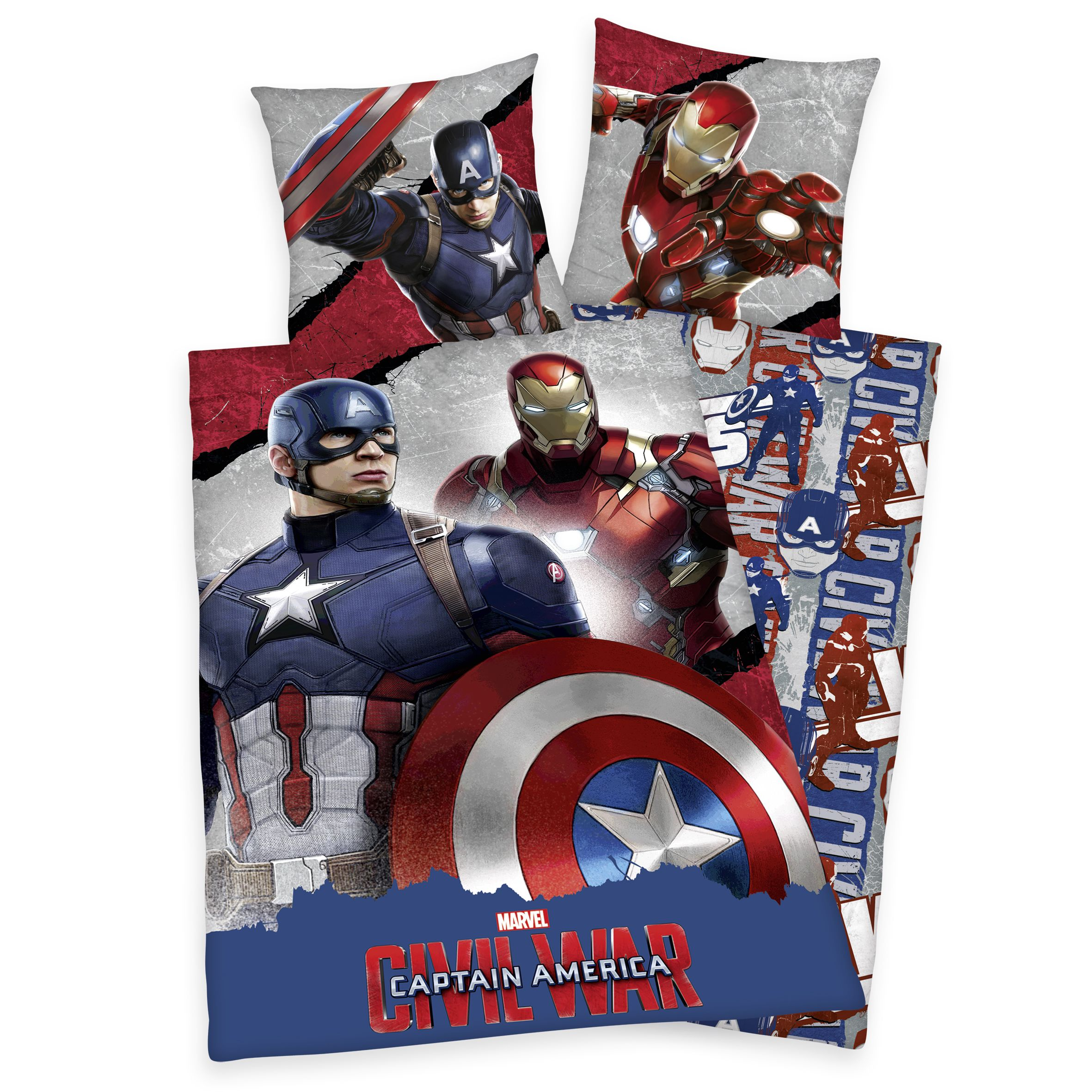 captain america civil war bettw sche bettw sche f r. Black Bedroom Furniture Sets. Home Design Ideas