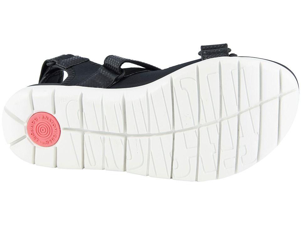 508140619555 FitFlop Neoflex Back Strap Sandals Women s Sandals Black Mix ...