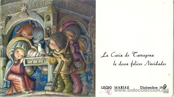 2022H - FERRÁNDIZ Nº 608- TARJETA DE FELICITACIÓN 12X6,8 CM - DATA 1969 (Postales - Dibujos y Caricaturas)