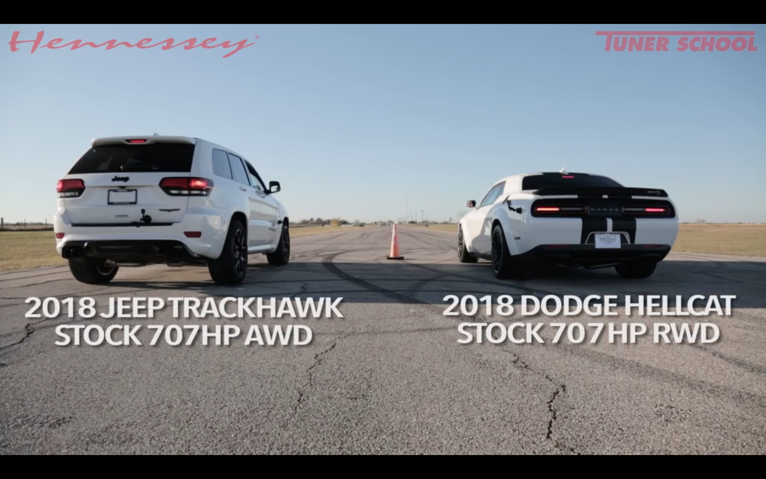 Video Jeep Grand Cherokee Srt Trackhawk Vs Widebody Srt Hellcat