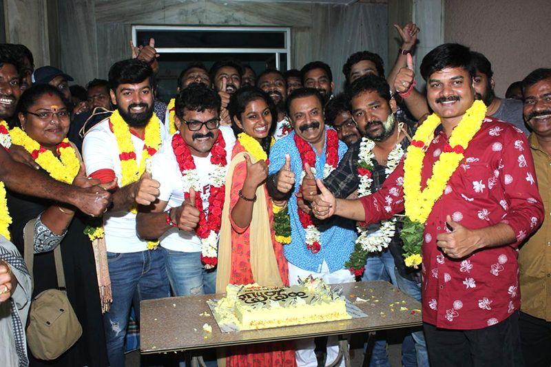 Kanni Maadam Movie Team Success Celebration at AVM Theatre