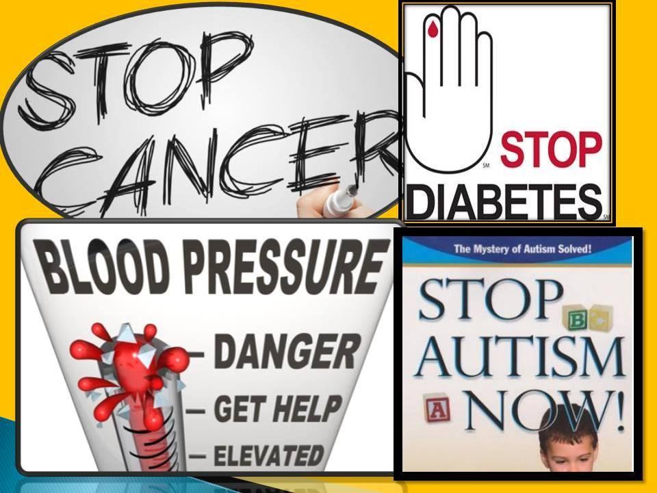 Diebetes,Darah Tinggi ,Cancer dan Autism