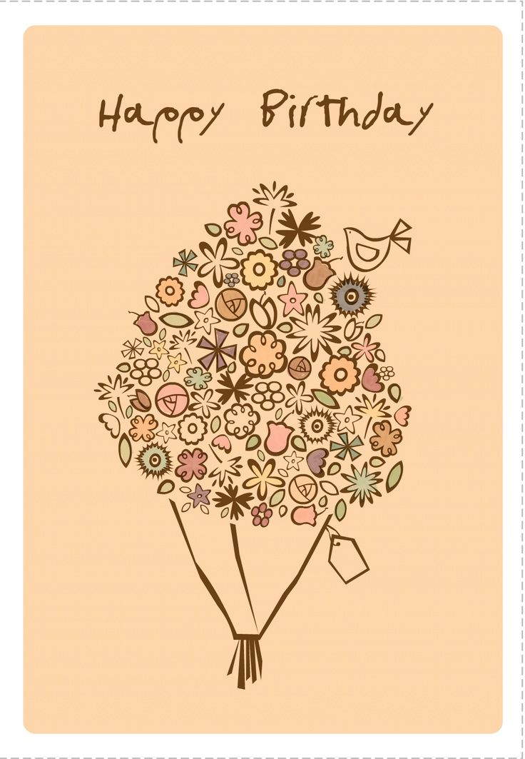 Birthday Card Free Printable Diy Birthday Birthdayparty