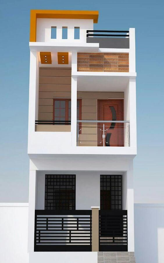 Small House Elevation Design Duplex House Design Latest House Designs: Top 30 Most Beautiful Houses Front Designs 2019 - Engineering Discoveries