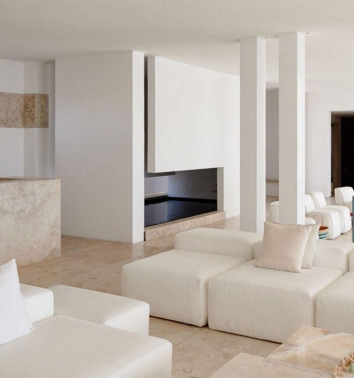 ▷ 1001 + conseils et idées pour aménager un salon blanc et beige ...