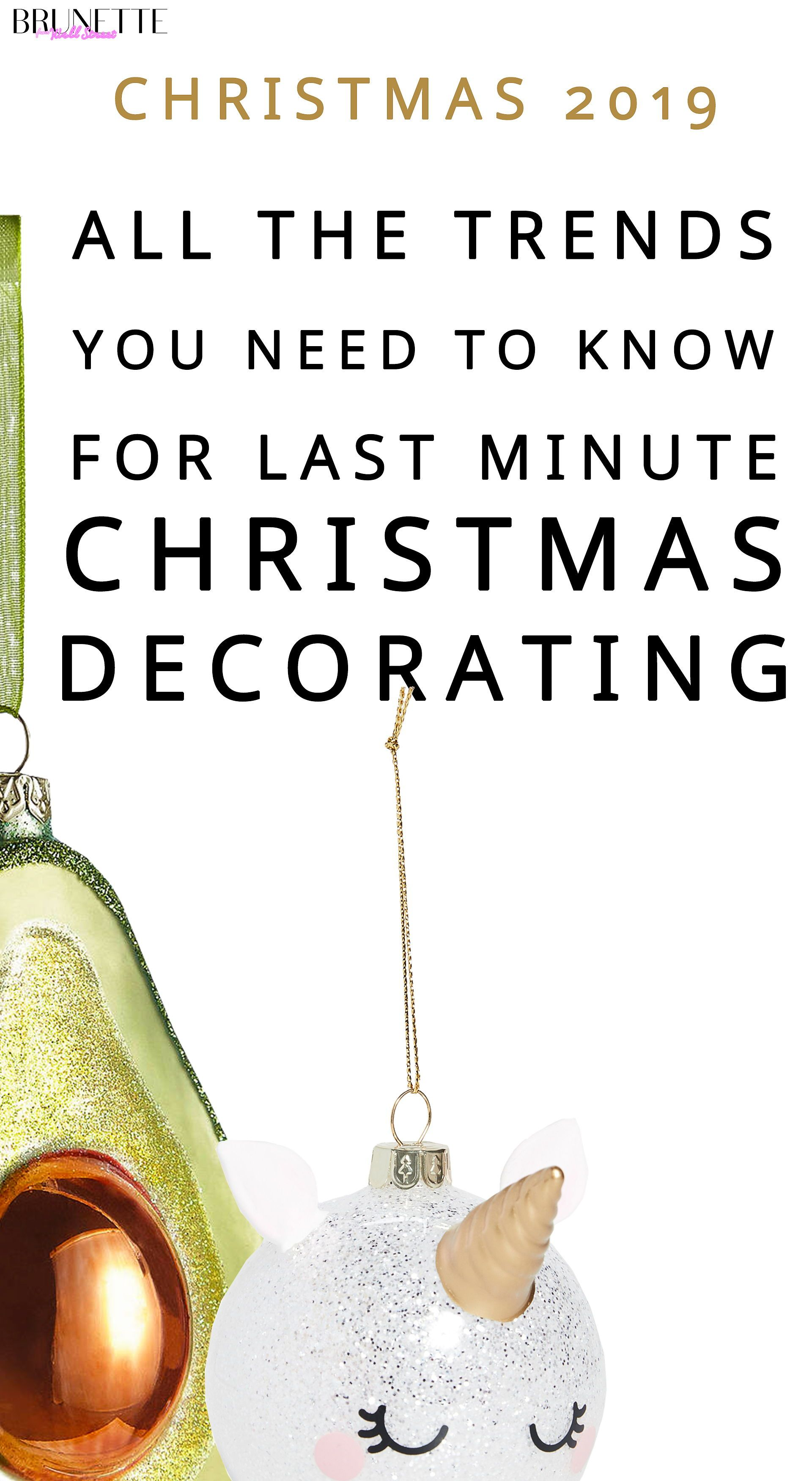 Most Popular Christmas Ornaments 2020 How to Decorate Home for Christmas 2020? | Brunette from Wall