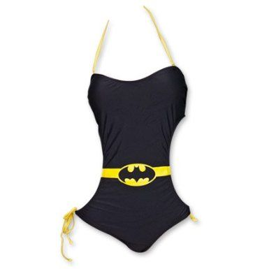 Batman Swimsuit One-Piece Monokini: Clothing
