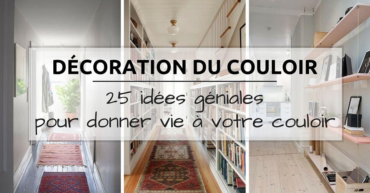 d coration couloir 25 id es g niales d couvrir le. Black Bedroom Furniture Sets. Home Design Ideas