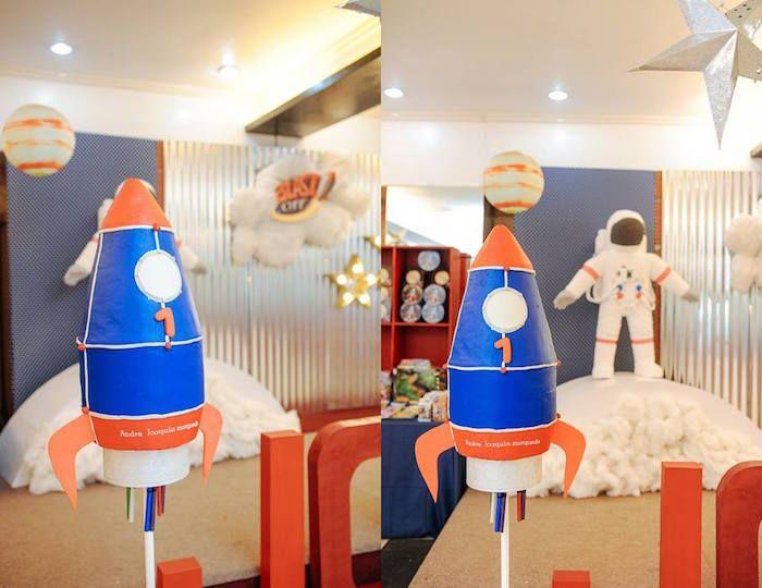 Astronaut Rocket Ship Birthday Party Kara S Ideas
