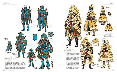 Monster Hunter Concept Art Book Google Search Monster Hunter