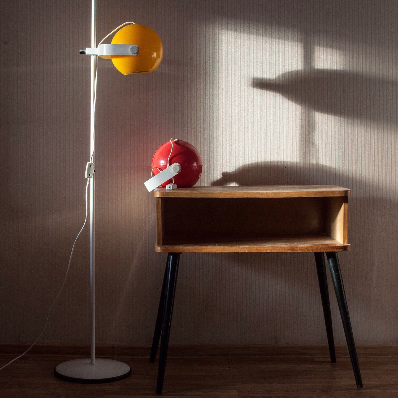 Mid century floor lamp atomic soviet vintage midcentury floor lamp