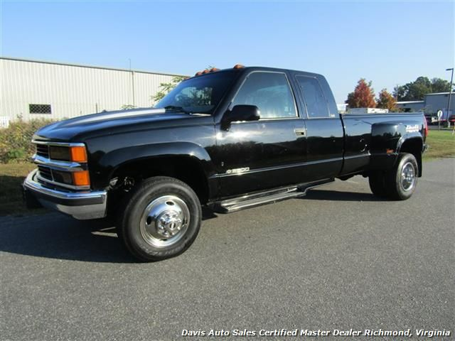 1997 chevrolet silverado 3500 ls dually 4x4 extended cab long bed for sale in richmond va. Black Bedroom Furniture Sets. Home Design Ideas