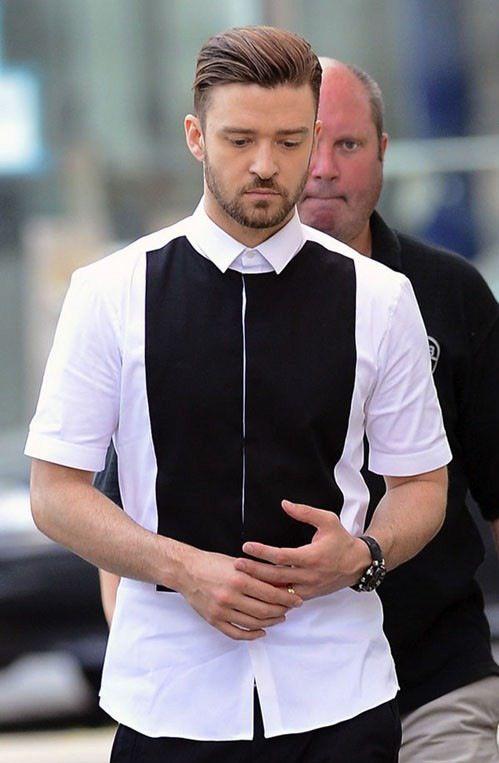 Justin Timberlake in Neil Barrett   Justin Timberlake en ...
