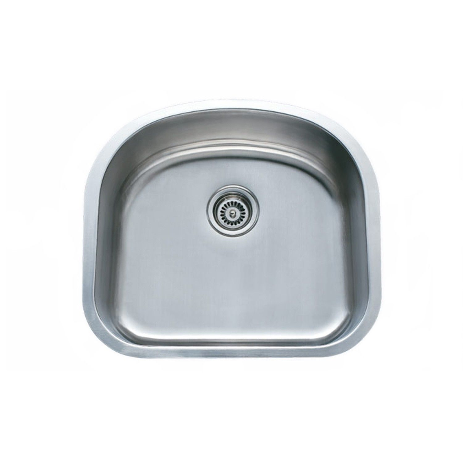 Omni Zeus Stainless Steel Sink 23 3 16 X 20 15 16 O D X 9 1 4 D 90 Sink Stainless Steel Undermount