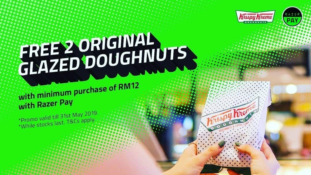 1431 May 2019 Krispy Kreme Razer Pay Promotion Krispy