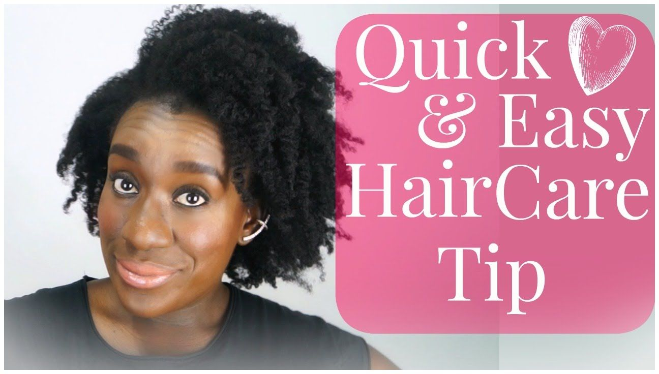 Natural hair tutorial how to easily moisturize and seal natural
