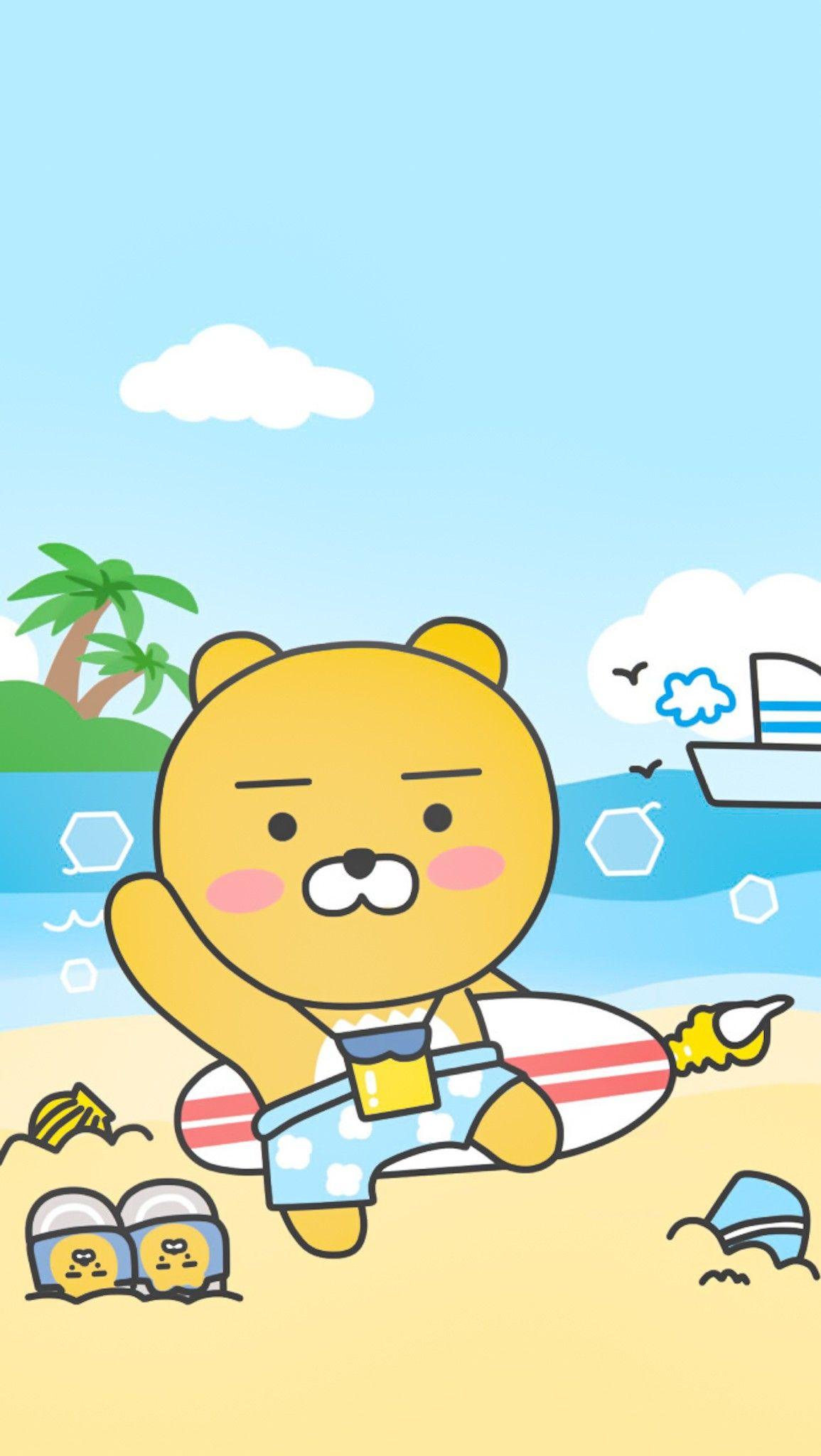 Pin by eto o on Ryan | Kakao friends, Cute cartoon, Cartoon
