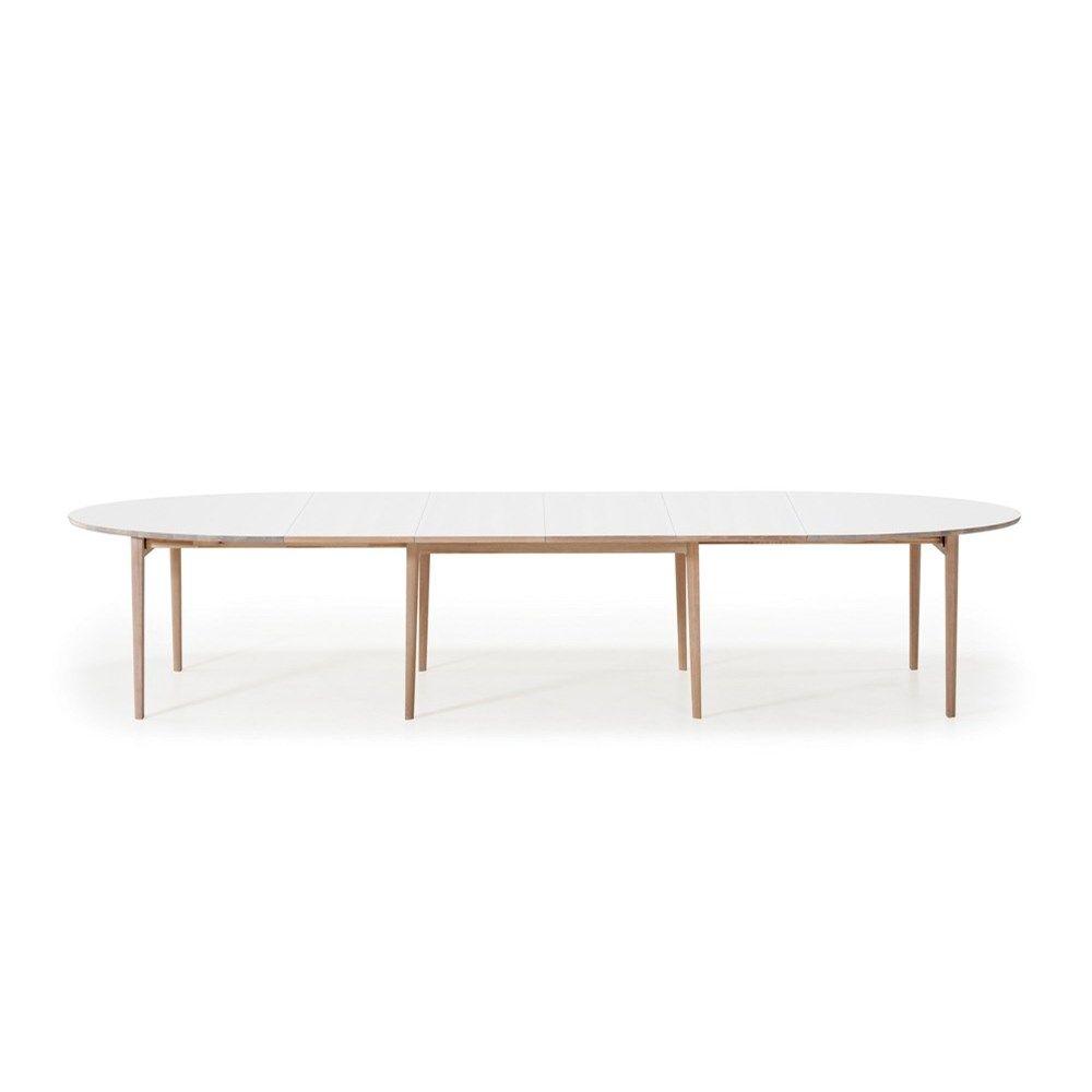 Eettafel White Wash.Skovby Uitschuifbare Tafel 78 Wit White Wash Poten Interieur