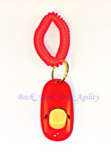 Details About Dog Click Button Trainer Obedience Training Aid
