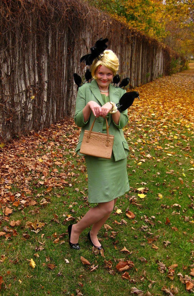 Tippi Hedren Birds Costume