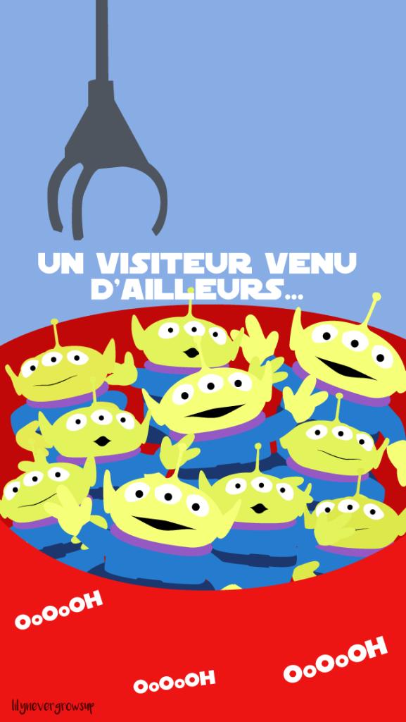 Toy Story Alien Oooh Un Visiteur Venu Dailleurs