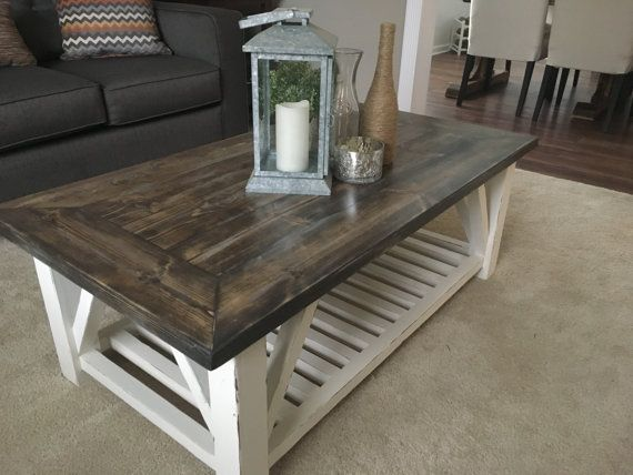 Rustic Distressed Coffee Table Rustic Wooden Coffee Table