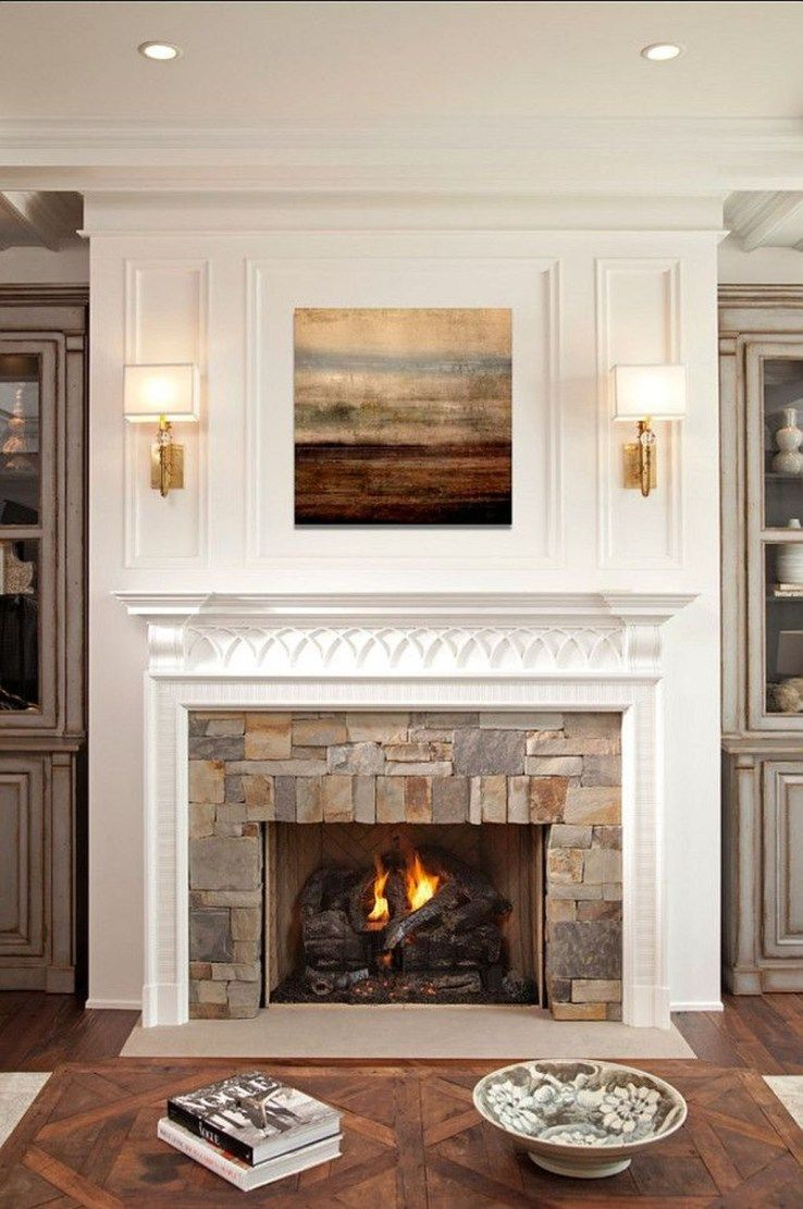 Popular Fireplace Design Ideas FarmhouseFireplace Living room