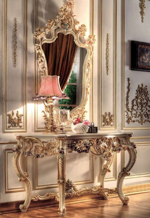 Fancy Mirrors Living Room