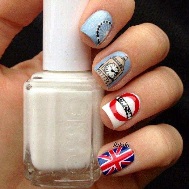 London Nail Nails Nailart Design At Your Fingertips Pinterest