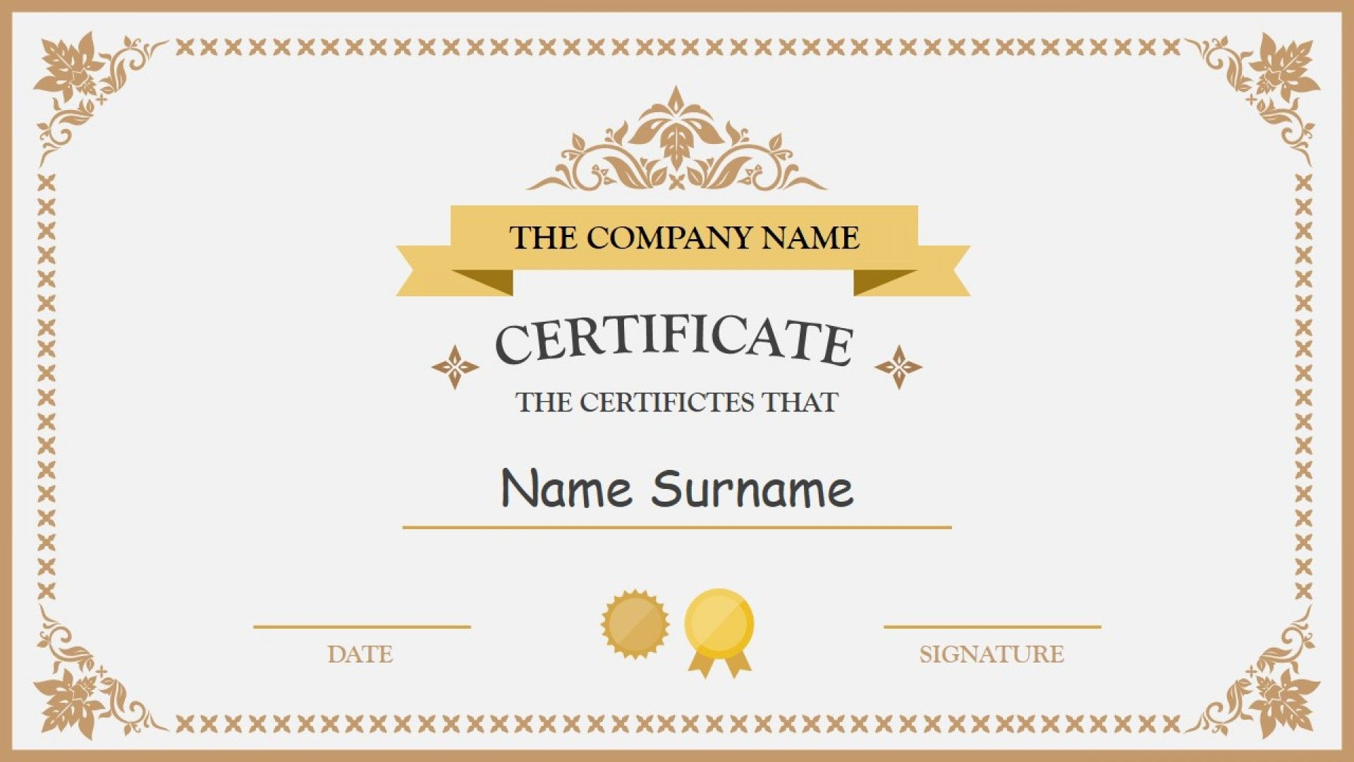 028 Free Blank Certificate Templates Template Ideas Intended For
