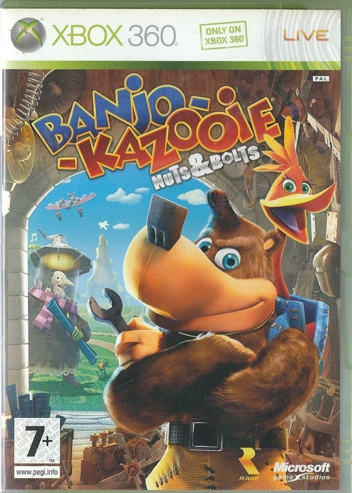 Xbox 360 Banjo Kazooie Nuts & Bolts ( Xbox One compatible