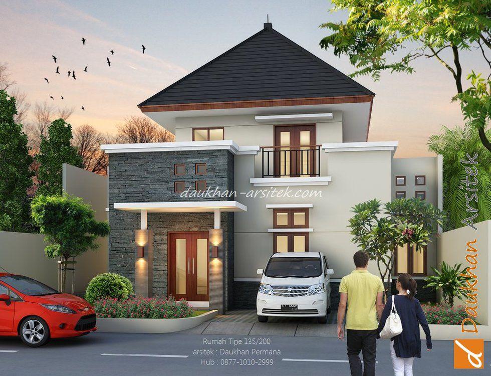Gambar Rumah Kecil Minimalis 2 Lantai bertema Bali. #arsitek dan #interior by  & Gambar Rumah Kecil Minimalis 2 Lantai bertema Bali. #arsitek dan ...