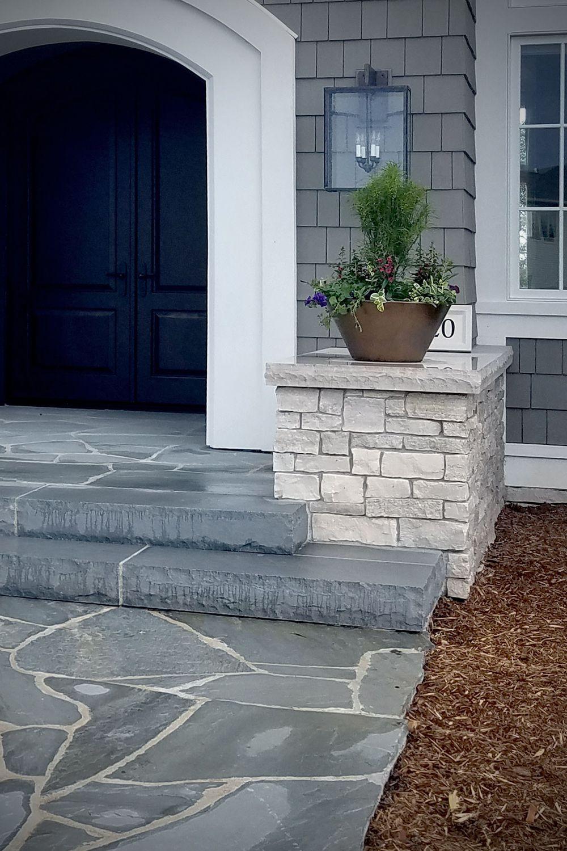 Fond Du Lac Country Squire Cut Veneer Stone Home
