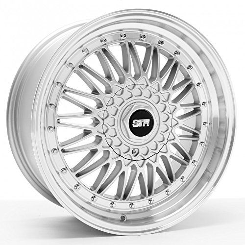 STR 606 18x8 Silver and Machined Wheel 5x1143mm 5x120mm Bolt Pattern 30mm Offset 731mm Hub Bore *** Click on the affiliate link Amazon.com on image for ...