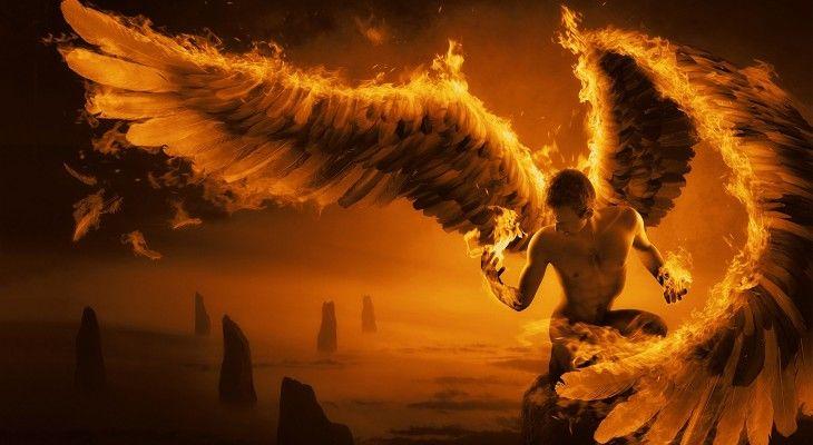 Fire Angel Wallpaper 730x400 Angel Wallpaper Angel Fallen Angel