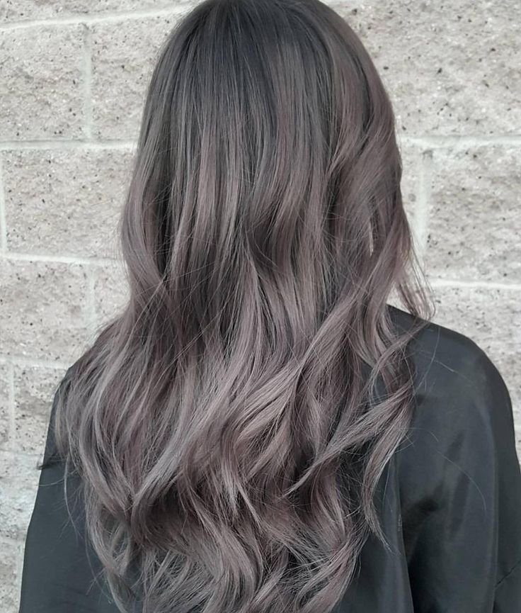 Image Result For Heather Ash Grey Hair Colour Brown Balayage