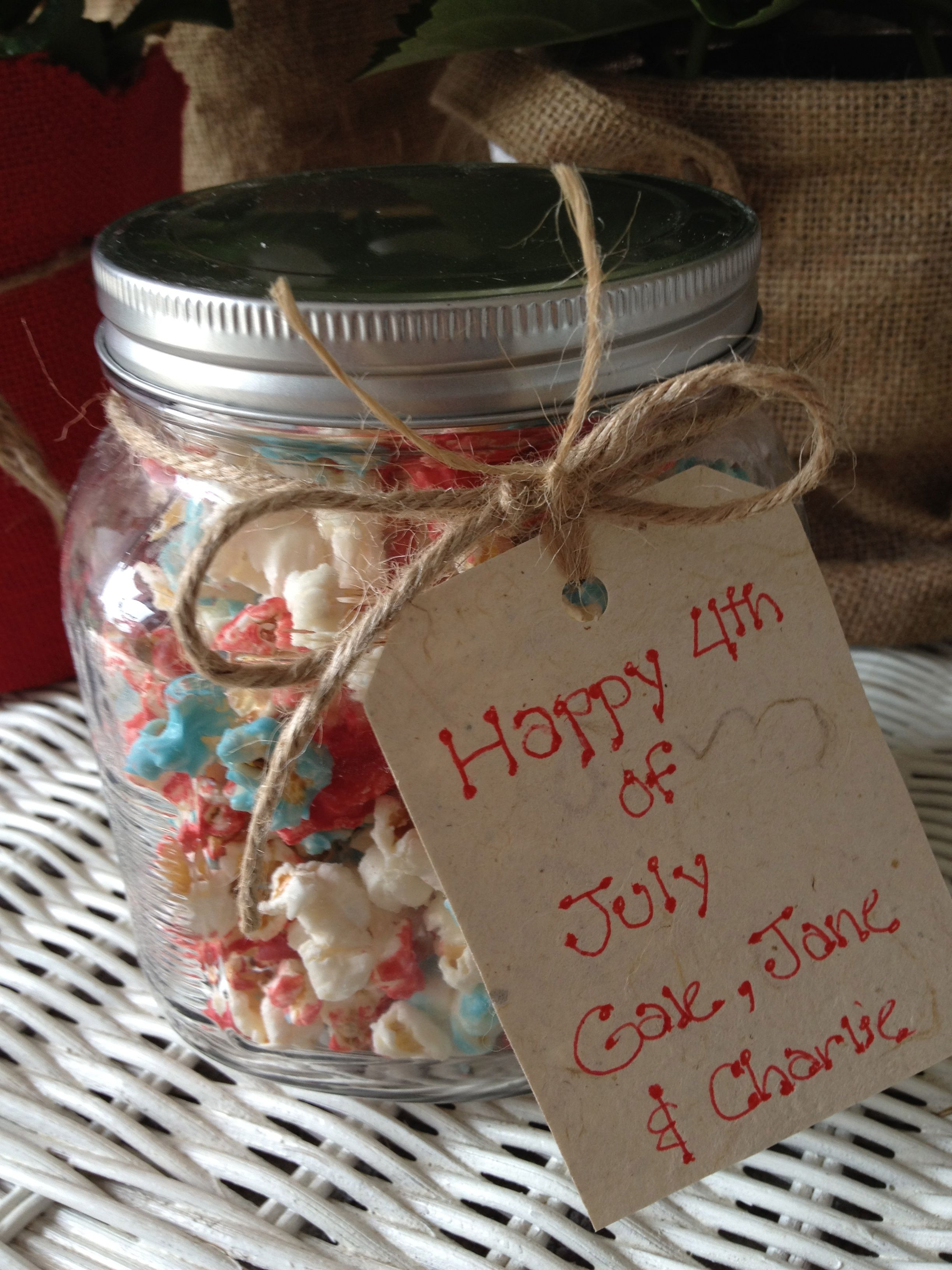 Hostess gift fourth of july much more then fireworks for Ideas for hostess gifts for dinner party