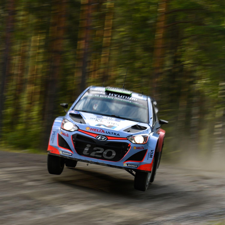 2015 WRC 핀란드 랠리 i20! 본능적이고 거친 레이스를 하는 WRC! Finland