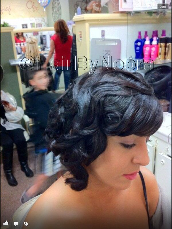 Women Hairstyles Long Fine Finger Wave Styles Pinterest Hair