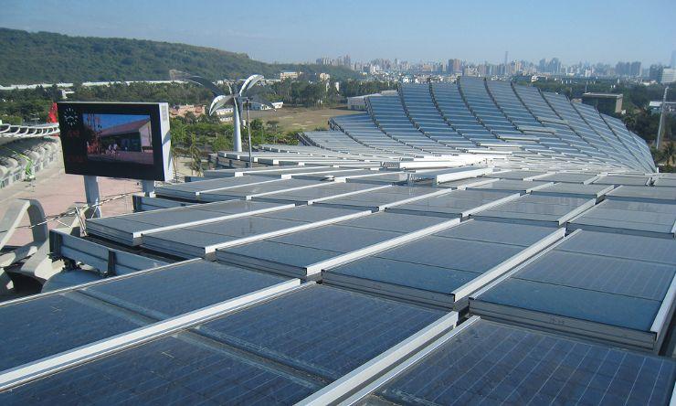 Gallery Of Taiwan Solar Powered Stadium Toyo Ito 7 Best Solar Panels Solar Panels Solar Installation
